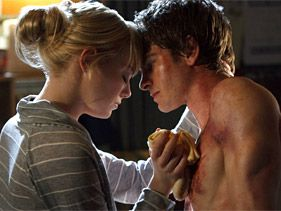 "Emma Stone and Andrew Garfield in ""The Amazing Spider-Man"""
