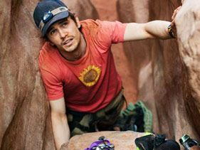 "James Franco in ""127 Hours"""