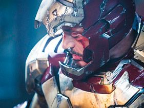 "Robert Downey Jr. in ""Iron Man 3"""