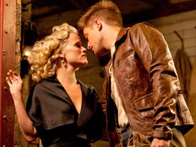 "Reese Witherspoon and Robert Pattinson in ""Water for Elephants"""