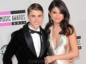 Justin Bieber and Selena Gomez