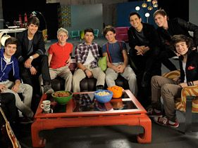 Big Time Rush and One Direction