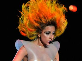 Lady Gaga performs at Madison Square Garden on February 21, 2011 