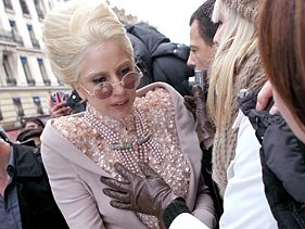 Lady Gaga is allegedly groped by a fan in Paris on December 20, 2010