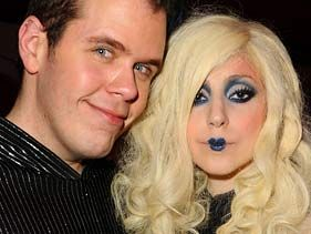 Perez Hilton and Lady Gaga attend MOCA's 30th anniversary gala on November 14 in Los Angeles, California