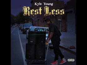 "Cover Art for Kyle Young's Album titled ""Rest Less""."