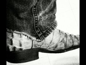 He loves his boots, and jeans baby!