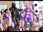 "Nicki Minaj and will.i.am perform ""Check It Out"" on stage during the 2010 MTV Video Music Awards in Los Angeles."