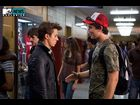 Kenny Wormald as Ren MacCormack and Miles Teller as Willard