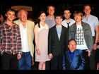 Tom Felton, Michael Gambon, Bonnie Wright, James Phelps, Daniel Radcliffe, Matthew Lewis, Warwick Davis, Rupert Grint and Oliver Phelps