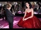 Katy Perry and a young friend at the premiere of 'Katy Perry: Part of Me'