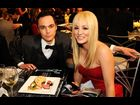 Jim Parsons and Kaley Cuoco on the scene at the 2013 SAG Awards in Los Angeles.