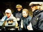 "Jerry Bruckheimer, Tony Scott and Daniel Mindel on the set of ""Enemy of the State"" in 1998"