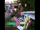 Fans line up to pay tribute to Ryan Dunn