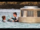 "Josh Hutcherson on the set of ""Catching Fire"" in Maui, Hawaii on November 26"